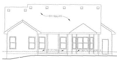 Rear Elevation Plan: 10-786