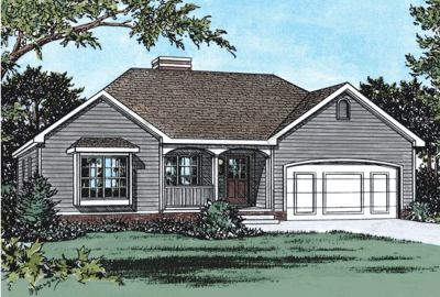 Traditional Style Floor Plans Plan: 10-787