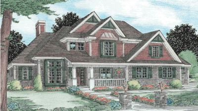 Country Style House Plans Plan: 10-792