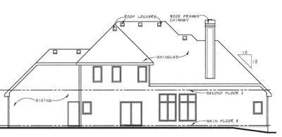 Rear Elevation Plan: 10-792