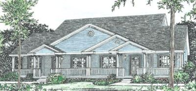 Traditional Style House Plans Plan: 10-794