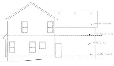 Rear Elevation Plan: 10-802