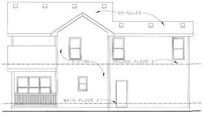 Rear Elevation Plan: 10-803