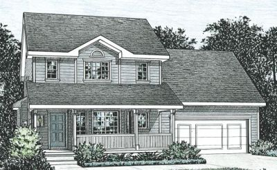 Traditional Style Home Design Plan: 10-804