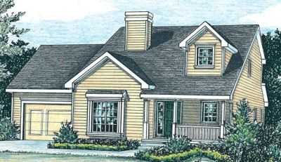 Traditional Style Floor Plans Plan: 10-806