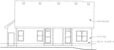 Rear Elevation Plan: 10-809