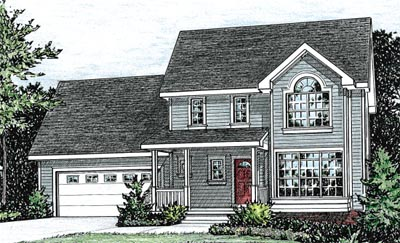 Traditional Style Floor Plans Plan: 10-811