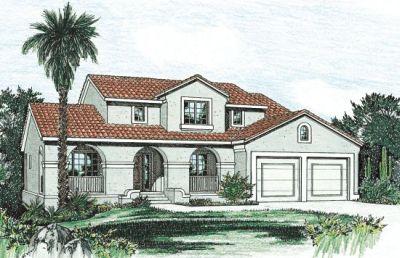 Southwest Style House Plans Plan: 10-819