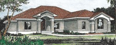 Southwest Style Floor Plans Plan: 10-820