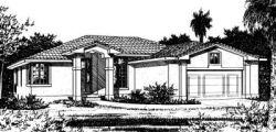 Southwest Style House Plans Plan: 10-823