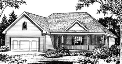 Traditional Style Floor Plans Plan: 10-826