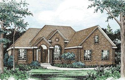 European Style House Plans Plan: 10-829
