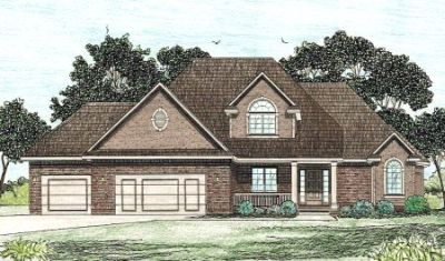Traditional Style Floor Plans Plan: 10-831