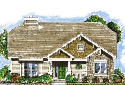 Craftsman Style House Plans Plan: 10-833