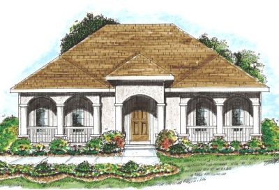 Traditional Style Floor Plans 10-835