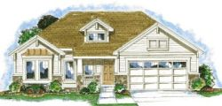 Craftsman Style Home Design Plan: 10-839