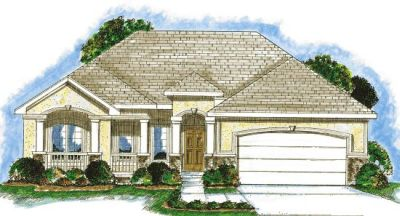 Traditional Style Home Design Plan: 10-840