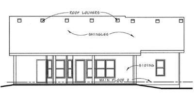 Rear Elevations Plan:10-841