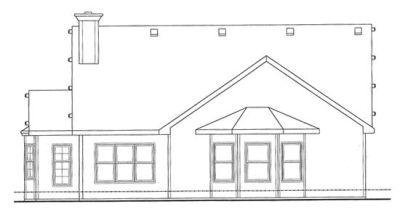 Rear Elevations Plan:10-842