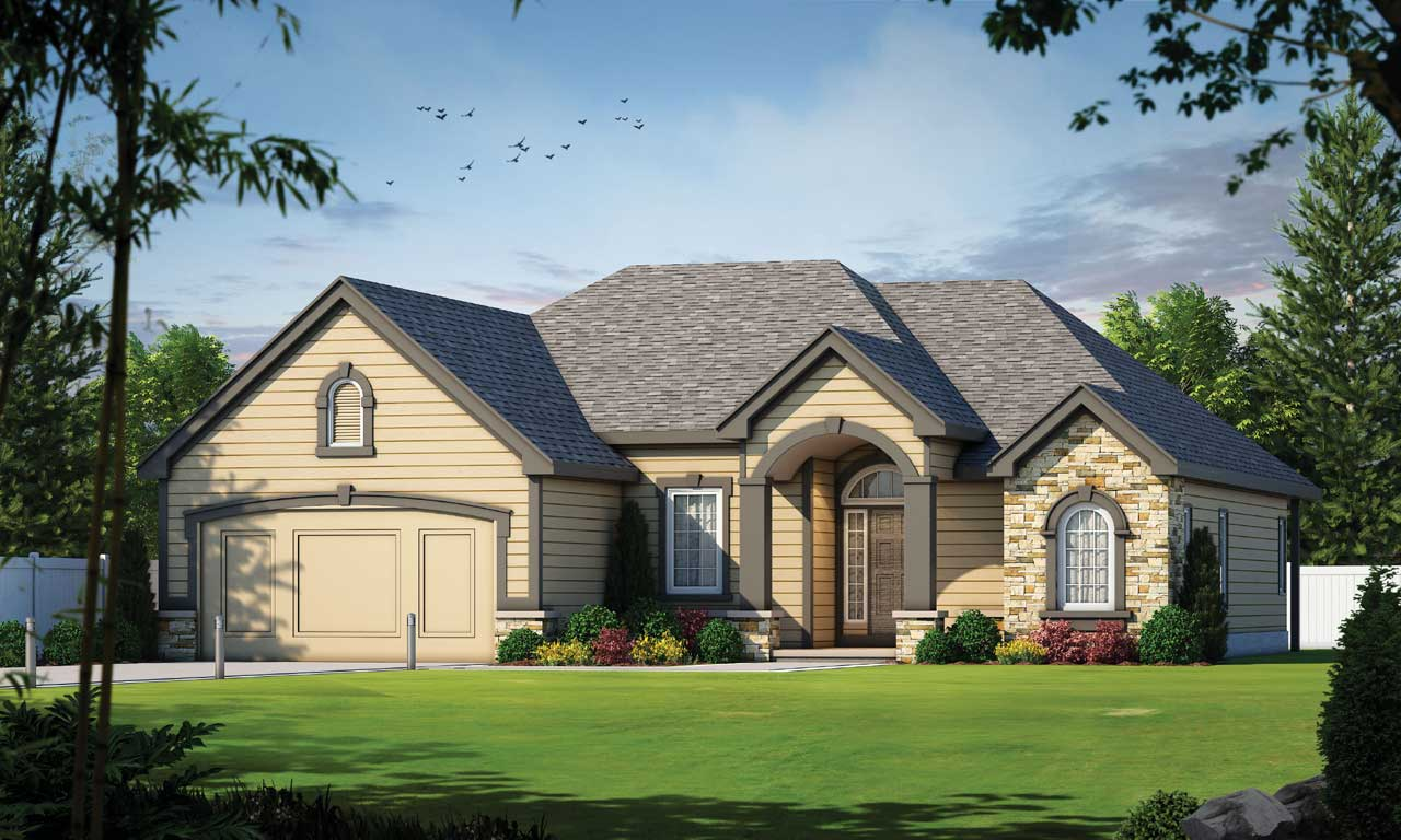 Traditional Style House Plans Plan: 10-845