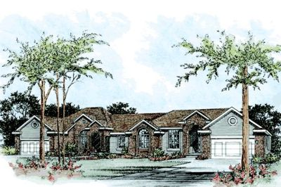 Traditional Style Floor Plans Plan: 10-851