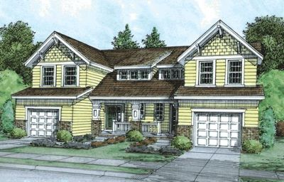 Craftsman Style House Plans 10-859