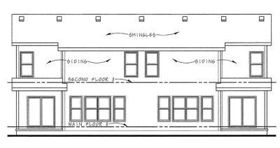 Rear Elevation Plan: 10-859