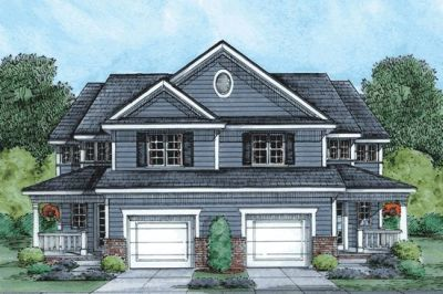 Traditional Style Home Design Plan: 10-860