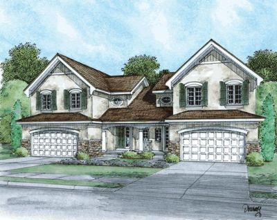 European Style Floor Plans Plan: 10-865