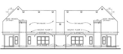 Rear Elevations Plan:10-867