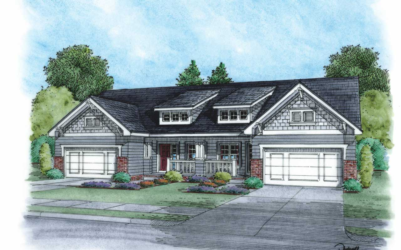 Craftsman Style House Plans Plan: 10-868