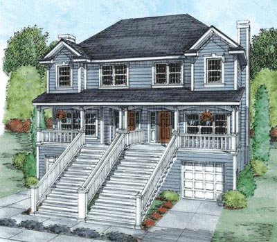 Traditional Style Home Design Plan: 10-870