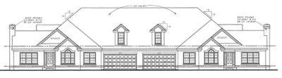 Rear Elevation Plan: 10-874