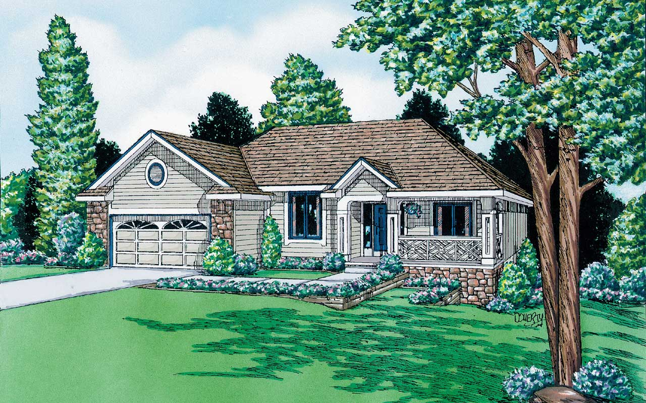 Traditional Style Floor Plans Plan: 10-882