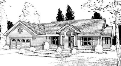 Traditional Style House Plans Plan: 10-883
