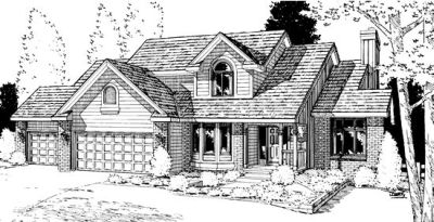 Traditional Style Floor Plans Plan: 10-887