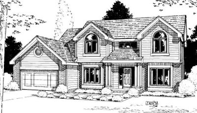 Traditional Style House Plans Plan: 10-891