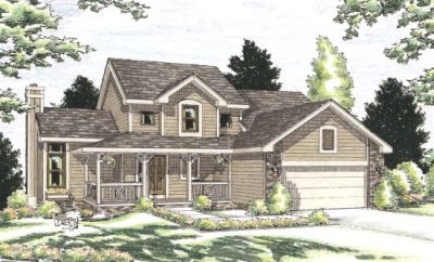 Country Style Floor Plans Plan: 10-893