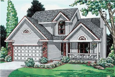 Traditional Style House Plans Plan: 10-894