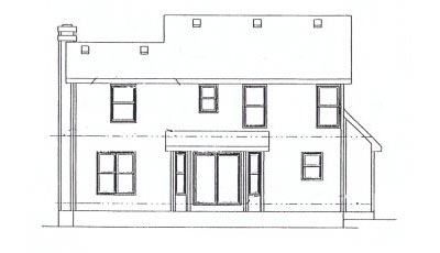 Rear Elevation Plan: 10-894