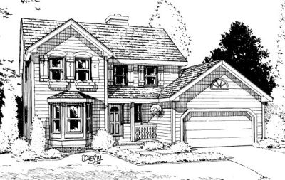 Traditional Style Floor Plans Plan: 10-895