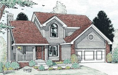 Traditional Style Floor Plans Plan: 10-896