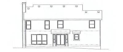 Rear Elevation Plan: 10-897