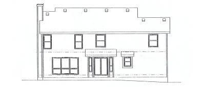 Rear Elevations Plan:10-897