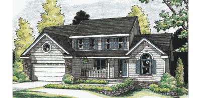 Country Style Floor Plans Plan: 10-901