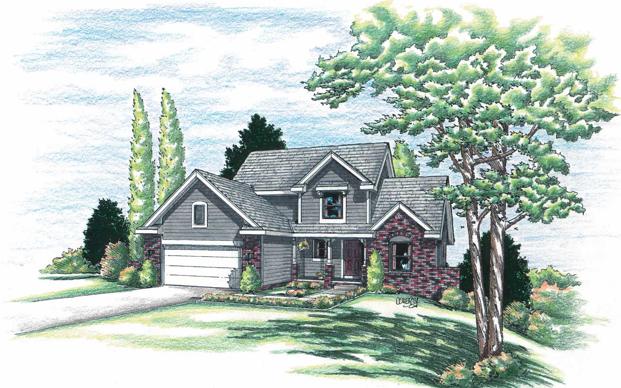 Traditional Style Floor Plans Plan: 10-903