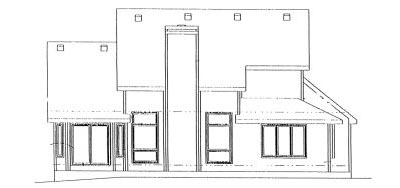 Rear Elevation Plan: 10-903