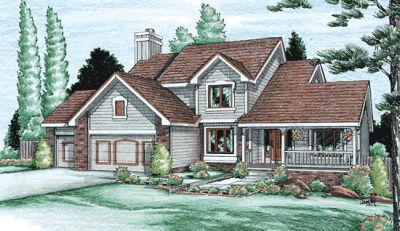 Traditional Style House Plans Plan: 10-904