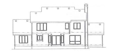 Rear Elevation Plan: 10-904