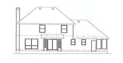 Rear Elevations Plan:10-906